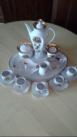 Сервиз кофейный (Корост.фарф.1700 и1500 грн) два набора