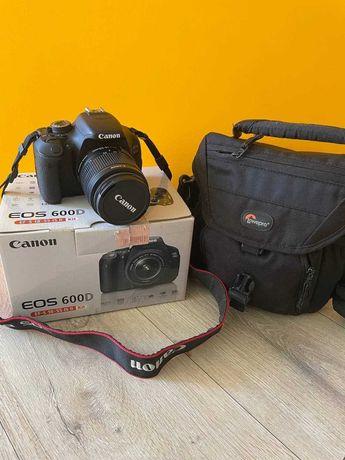 Фотоаппарат Canon EOS 600D. В идеальном состоянии.