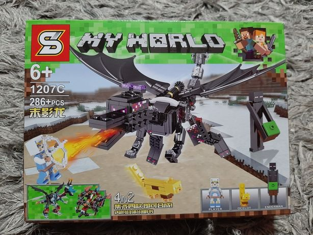 Prezent swieta Minecraft My World jak Lego 286 elementow super jakosc