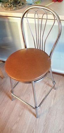 Krzesło wysokie/ barowe/ Hoker/ do strzyżenia itp ,