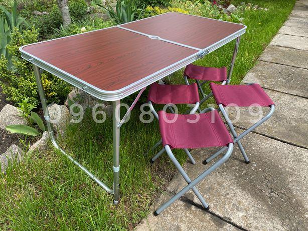 Раскладной Стол для пикника + 4 стула. Стіл для кемпинга, туристически