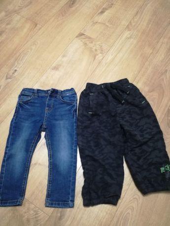 Dwie pary spodni