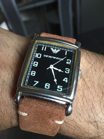 Relógio Armani com 7 Braceletes