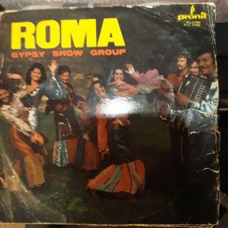 Płyta winylowa zespołu roma