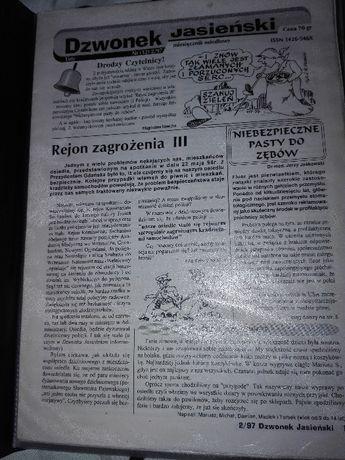 Prl Gazeta Dzwonek Jasieński 3 szt.