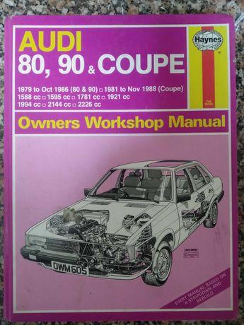 Livro antigo da Audi