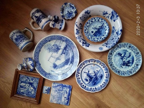 Porcelana Blue Delfts