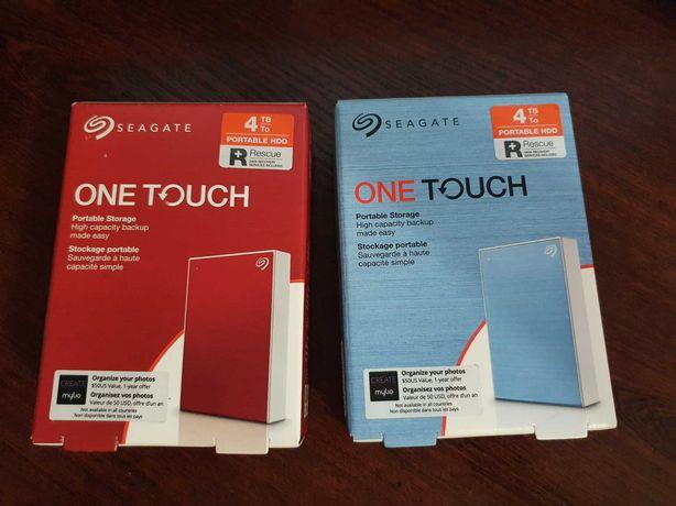 Зовнішній жорсткий диск Seagate One Touch 4 TB