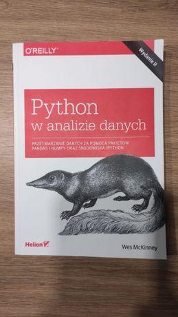 """Książka """"Python w analizie danych"""""""
