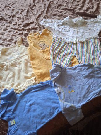 Комбінезони,футболки-боді  50-80см