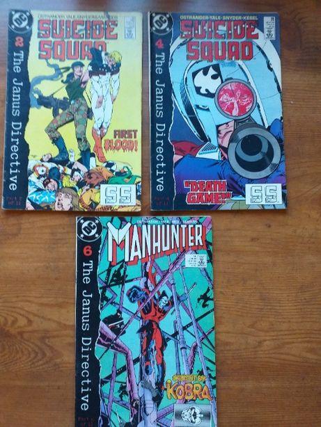 DC Komiks Suicide Squad Nr 2,4 i Manhunter nr 6