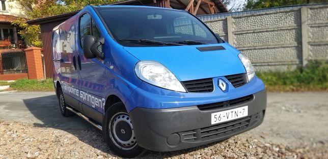 Renault Trafic 2.0dci 3-osobowy furgon L1H1 Rury Hak Zadbany Polecam