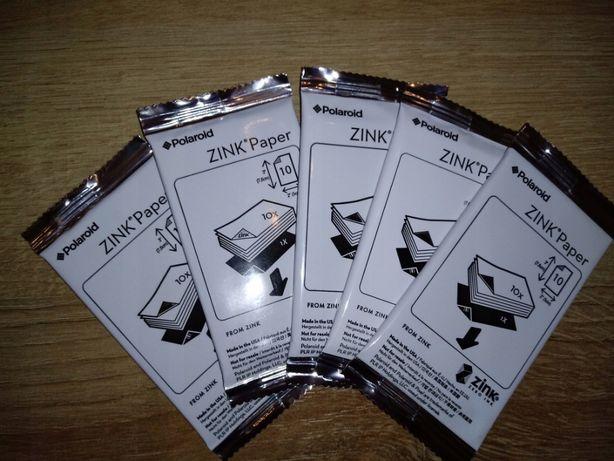 Wkład POLAROID ZINK PAPER papier 2x3' 1op. (10 zdjęć) snap touch z2300