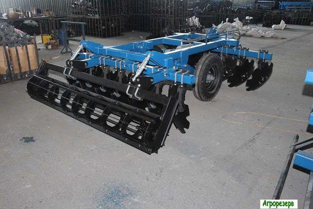 Борона дисковая навесная БДФ прицепная БДФП к трактору сеялка плуг
