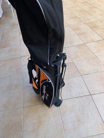 Saco e tacos de golfe