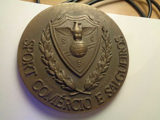 Medalha Sport Comércio E Salgueiros Oferta Envio