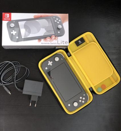 Nintendo switch lite ГАРАНТИЯ +128/чехол/игры