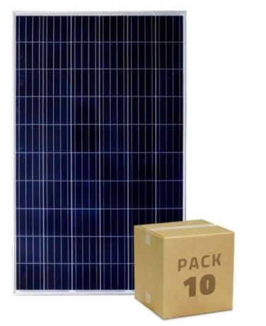 Pack Painel Solar FotoVoltaico Policristalino 320W BYD Classe A (10un)