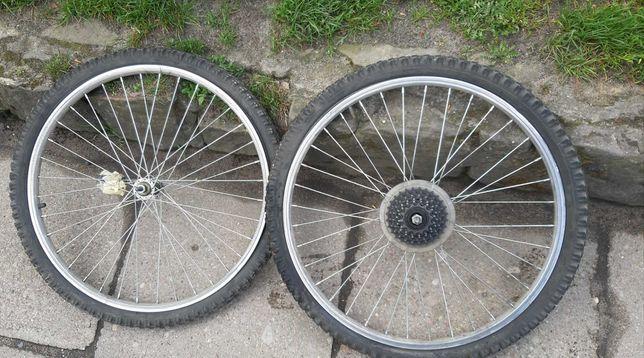 """Koło rowerowe 24"""" do roweru górskiego"""