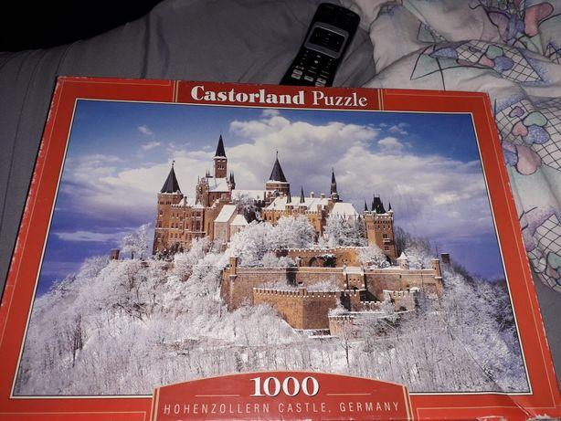 Puzzle 1000 szt kompletne