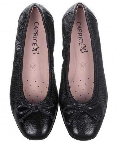 Продаю мягкие удобные кожаные балетки Caprice 39р.