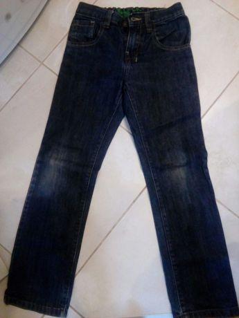 Spodnie jeans next 140 cm