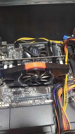 Системный блок. i3 10105 F.SSD NVM 500 GB. 8GB.GT 440 -1GB.