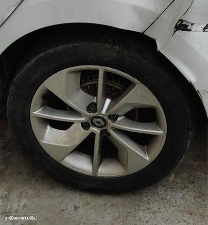 Eixo traseiro tambor Renault Clio IV 4 2012-2016 charriot ponte traz tras traseira cubos tambores