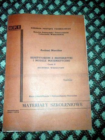 repetytorium matematyczne i modele mat z 1969/70