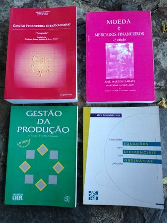 Livros de Economia- Gestão