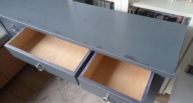 Recznie robione biurko drewniane na zamowienie
