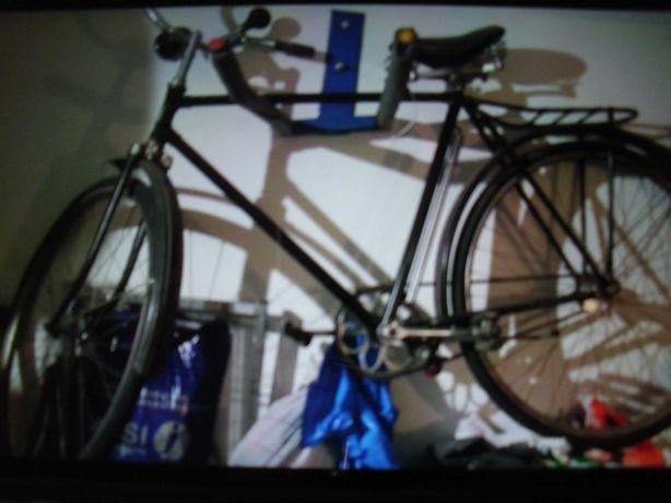 Czarny - Stary rower