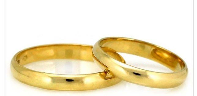 Obrączki ślubne pr.585