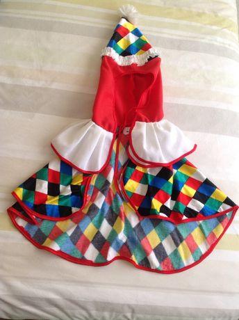 Acessório palhaço para criança 2 a 4 anos / Carnaval