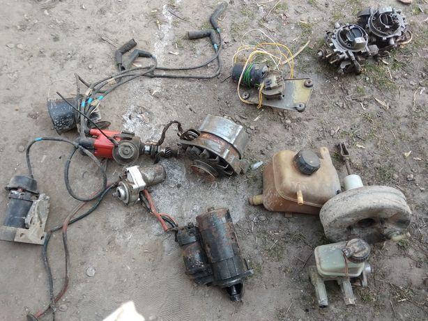 Запчастини опель- корса1987(генератор,стартер,Г.Т. карбюратрии і так і