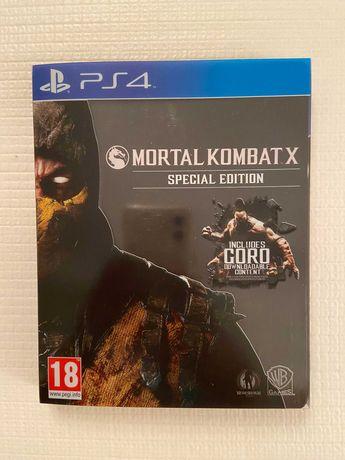 PS4 - Mortal Kombat X (SPECIAL EDITION)