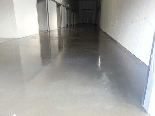 Бетонна підлога. Промислові підлоги. Стяжка. Бетонные полы