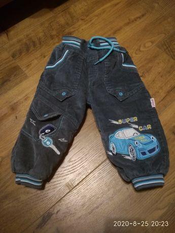 Утеплені штани на 9-18 міс