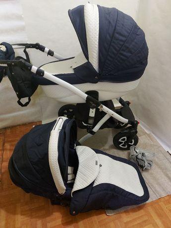 Adamex Barletta коляска 2в1 каляска універсальна візок для хлопчика