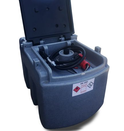 Zbiornik mobilny na paliwo poj 250L - dwupłaszczowy 1500L 2500L 5000L