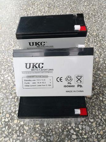 Аккумулятор 7,2Ач 12В UKC батарея аккумуляторная ИБП сигнализация