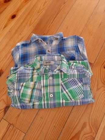 Dwie koszule chłopięce 104