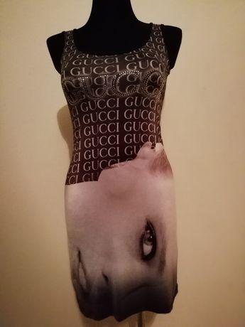 Oryginalna sukienka-tunika