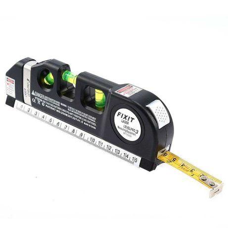 Лазерный уровень c рулеткой  level meter