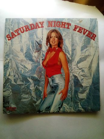 """Vinil 33 rpm """"Saturday Night Fever"""", dos Bee Gees"""