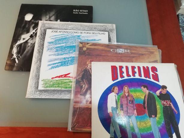 3 discos Vinil Musica Portuguesa Como novos! Delfins Zeca Afonso Rão k