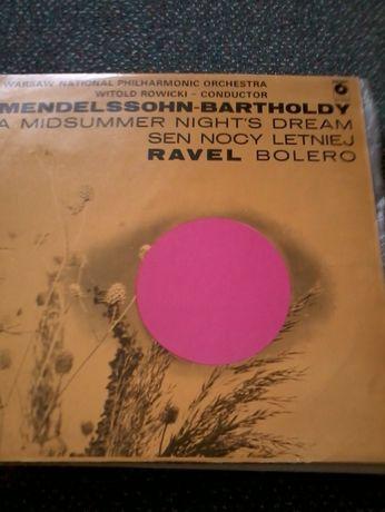 Mendelson Bartholdy płyta winilowa