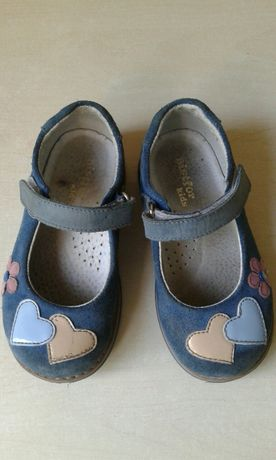 Туфли кожаные Bistfor Kids размер 24 по стельке 16.0 см