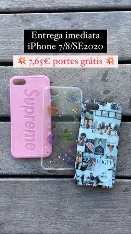 Capas iphone 7/8/SE2020