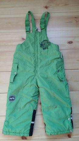 Ciepłe spodnie zimowe r. 92 - Cocodrillo - wymiary na zdjęciach.